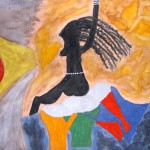 "Abdou's Painting ""Woman's power"""